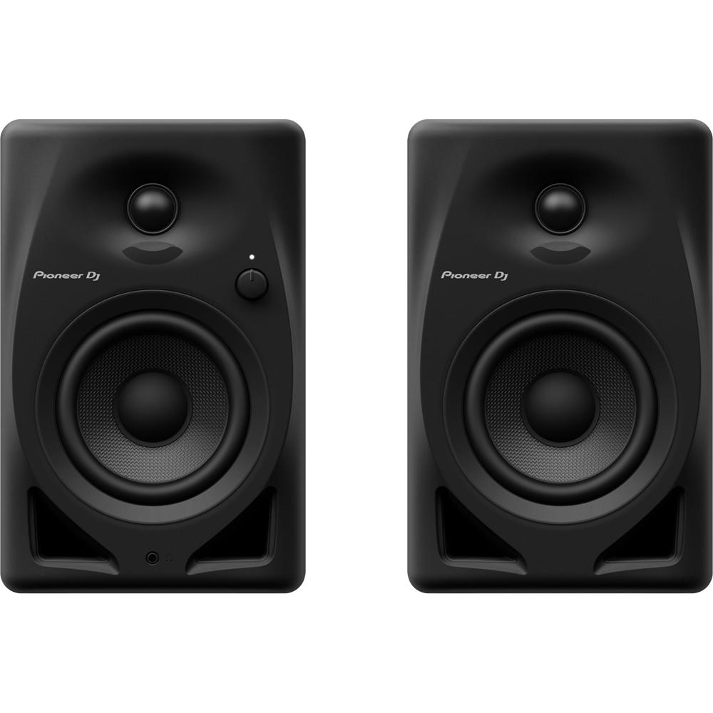 a4f5a95e3b1 Pioneer PLX500 Black Turntable (Single)   Pioneer DM-40 Black Bundle ...